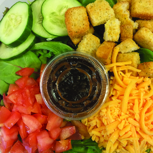Veggie Loca House Salad